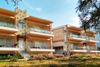 apartments porto thassos building