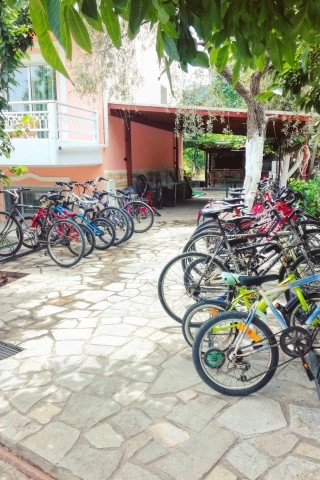 facilities porto thassos bike rental