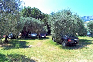 facilities porto thassos parking