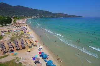 skala potamias porto thassos golden beach view