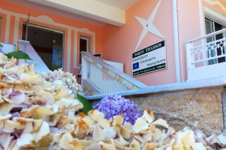 studios porto thassos entrance