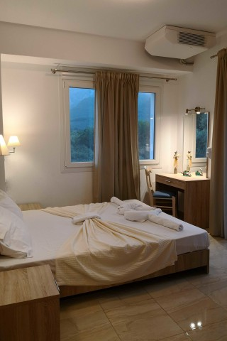 superior apartment porto thassos cozy bed
