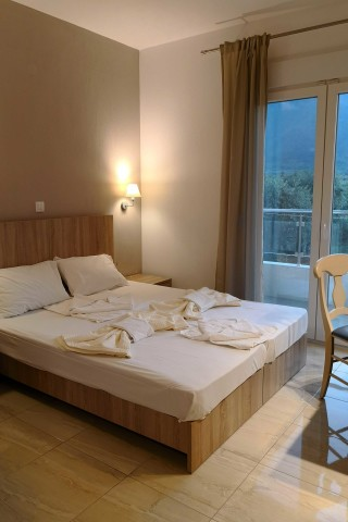 superior apartment porto thassos double bed