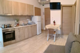 superior apartment porto thassos equipped kitchen