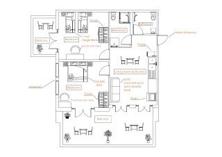 Superior Apartment - building interior