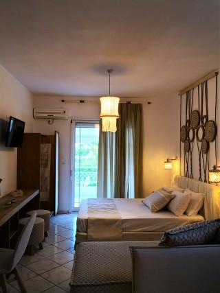 premium studio porto thassos cozy room