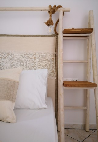 superior studio porto thassos cozy bed