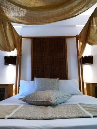 premium studio porto thassos cozy bed